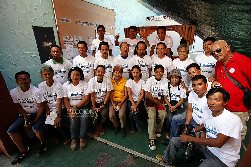 Local Journalists in Tacloban